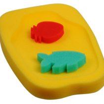 Sema Bebe Küvet İçi Süngeri(Sarı)